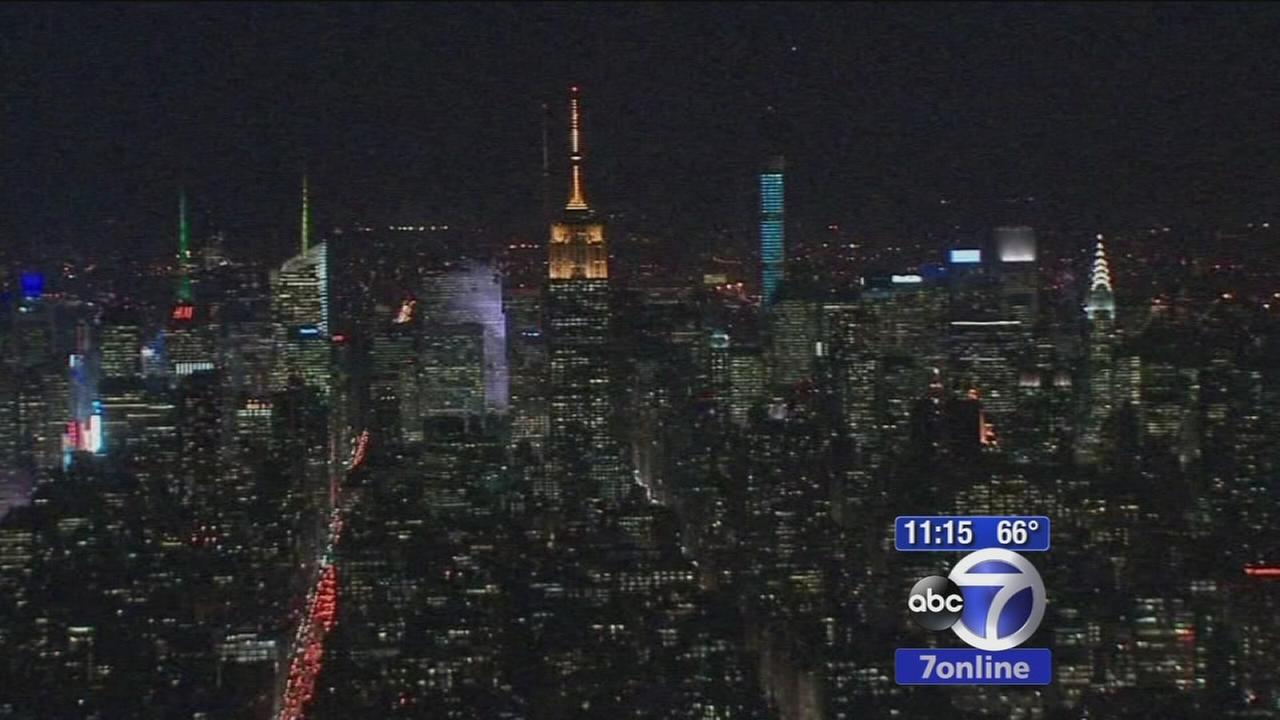 Preview of the view from One World Trade observatory