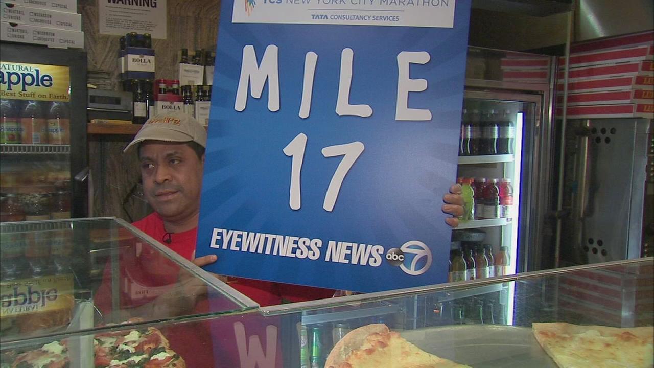 TCS New York City Marathon - Mile 17