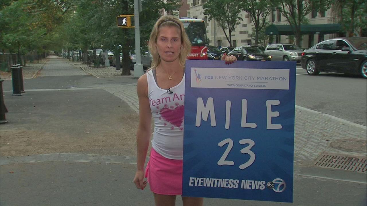 TCS New York City Marathon - Mile 23
