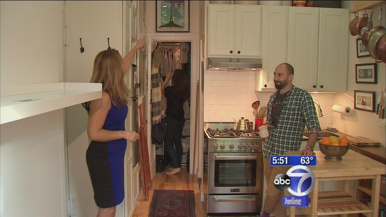 Couple crams their way into tiny NYC apartment