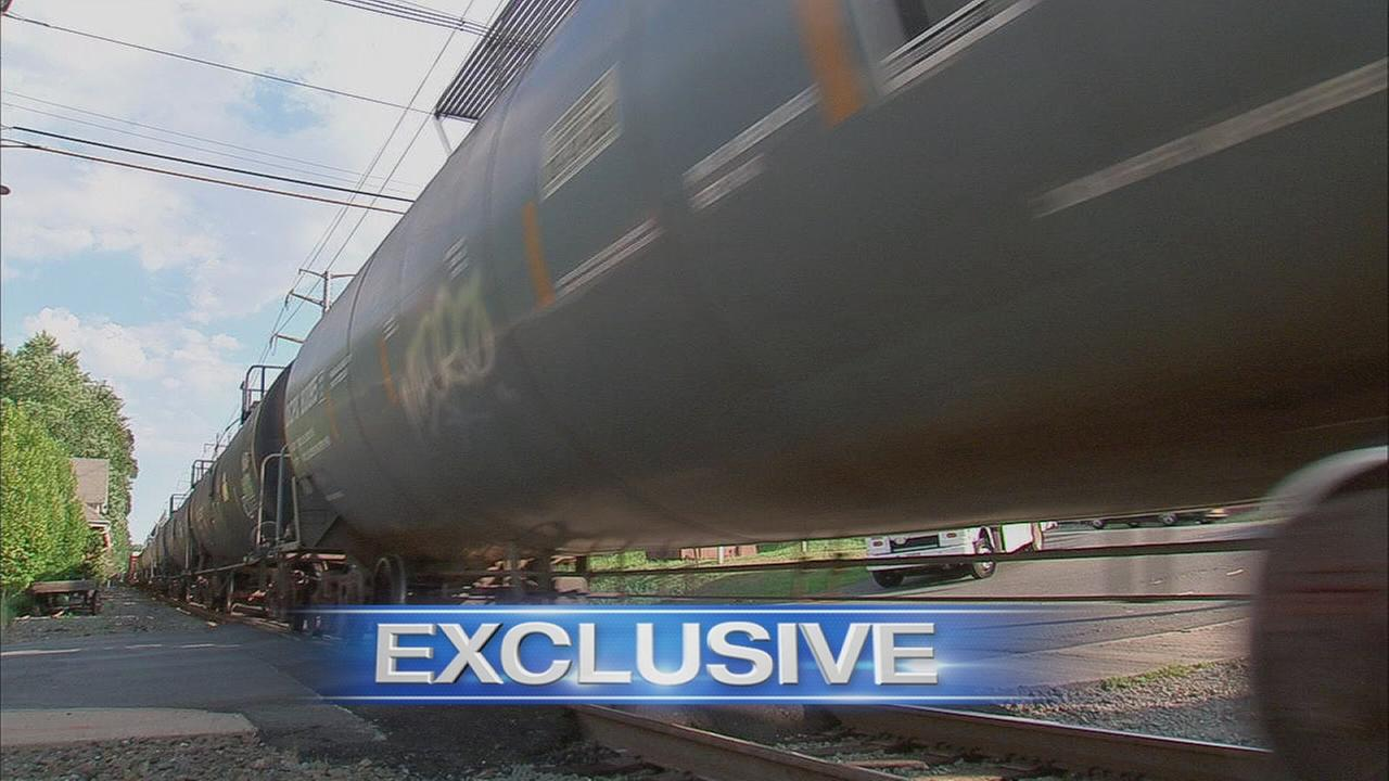 Exclusive: Explosive trains in NY, NJ