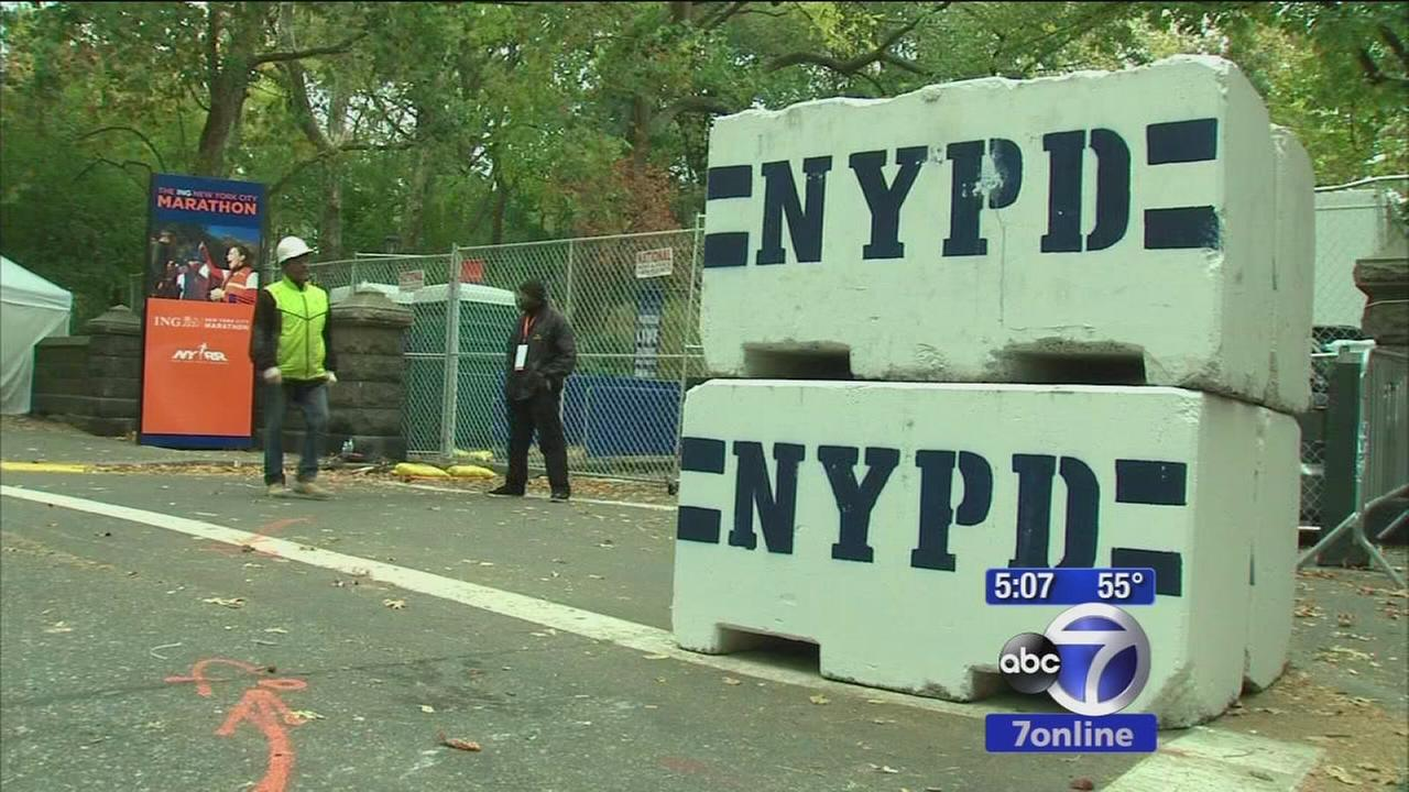 Security being ramped up for NYC Marathon