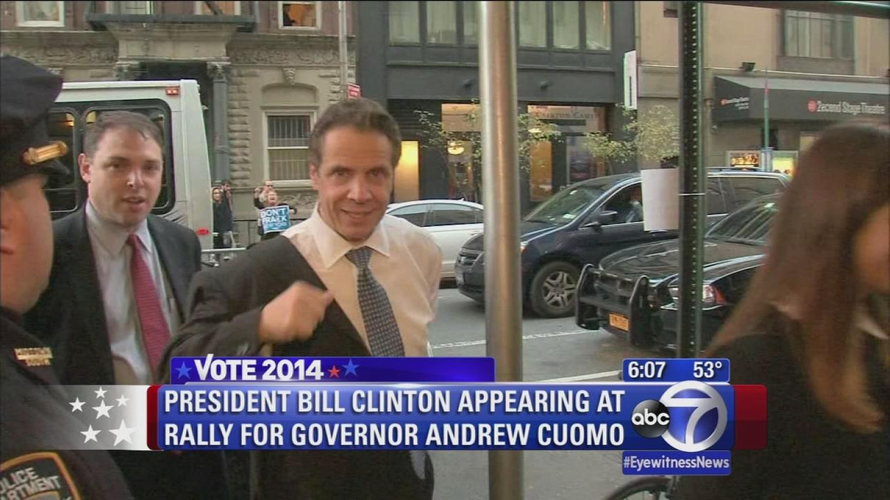 Candidates for NY Governor enter final days of campaign