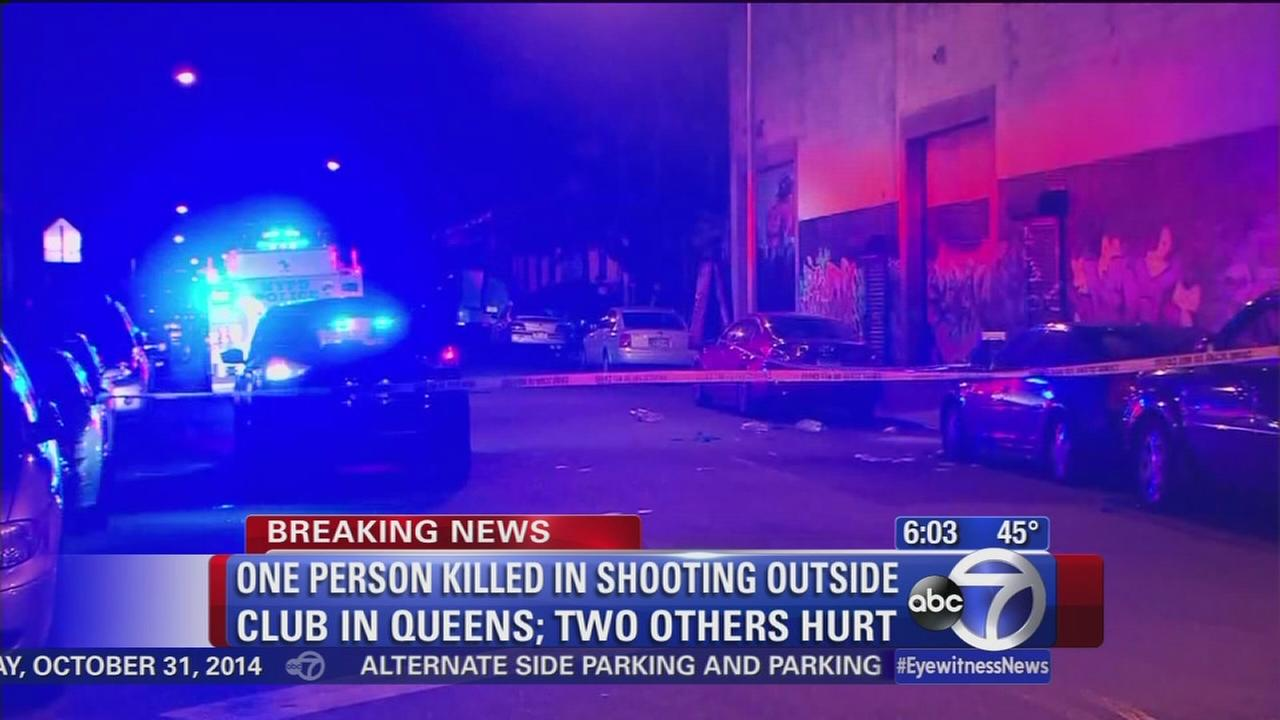 Woman dead in Queens shooting outside nightclub