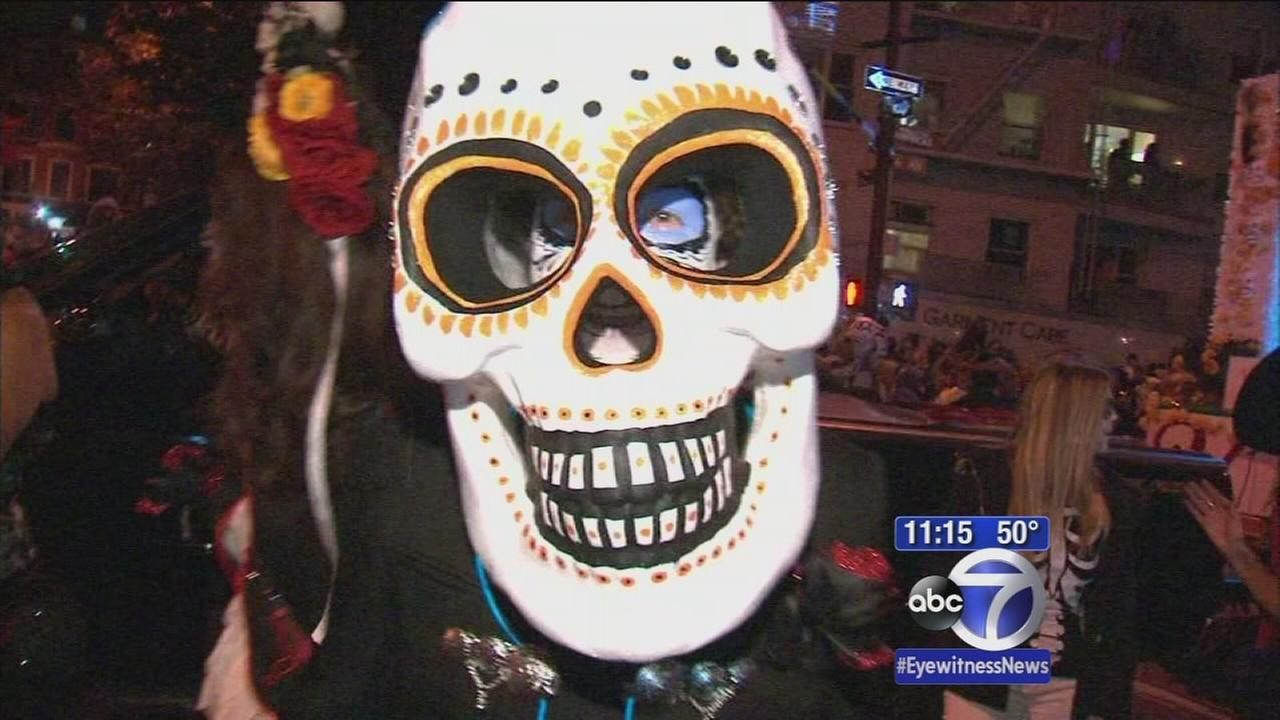 Costumes dazzle at Greenwich Village Halloween Parade