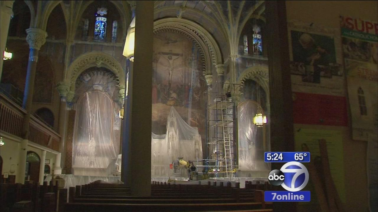 Church treasures in trouble