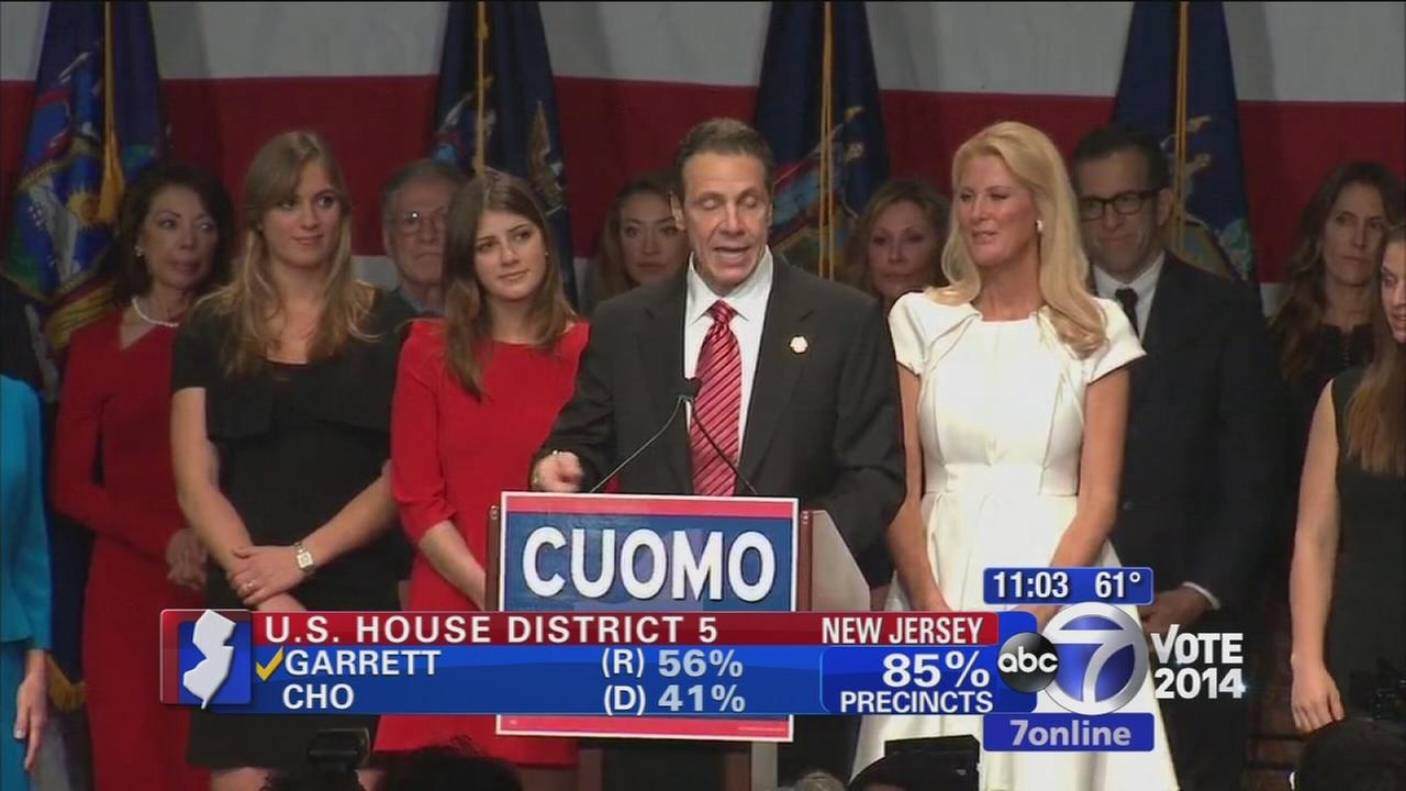 Gov. Cuomo wins re-election in New York