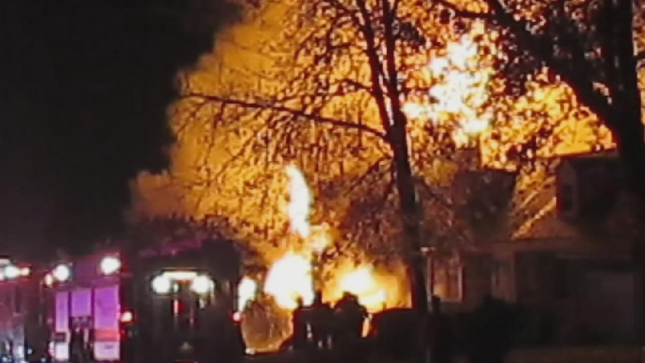 Eyewitness video from Colonia fire
