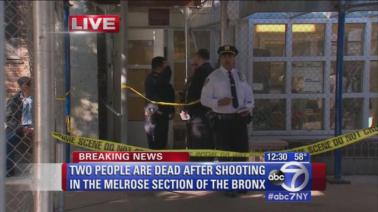 2 dead in Bronx apartment building shooting