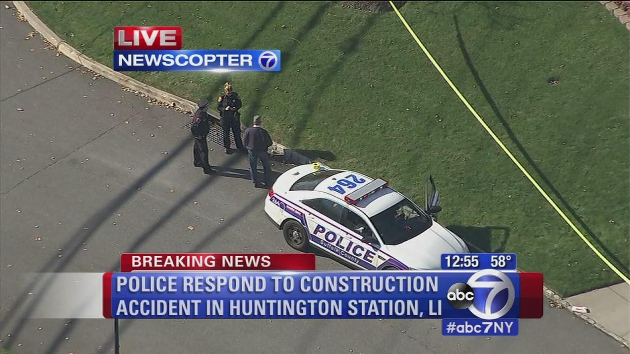 1 dead in Long Island construction accident