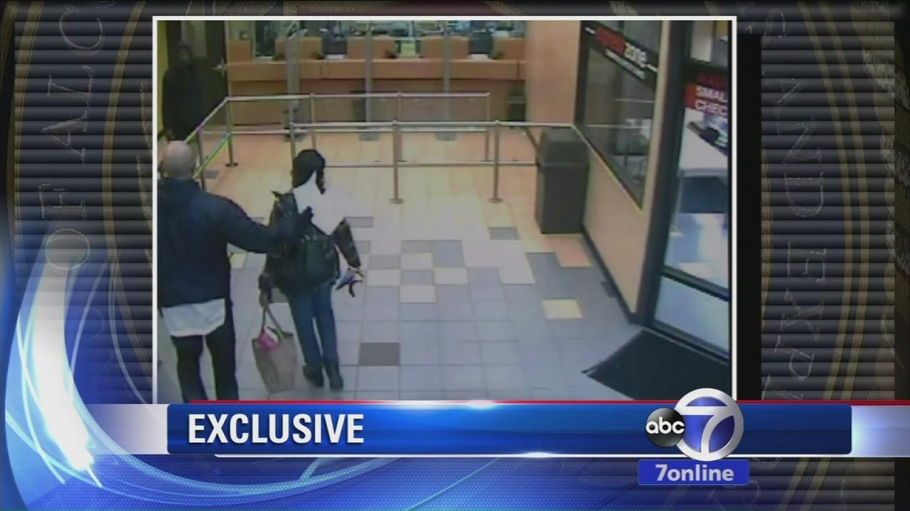 Exclusive: Daring robbery caught on video