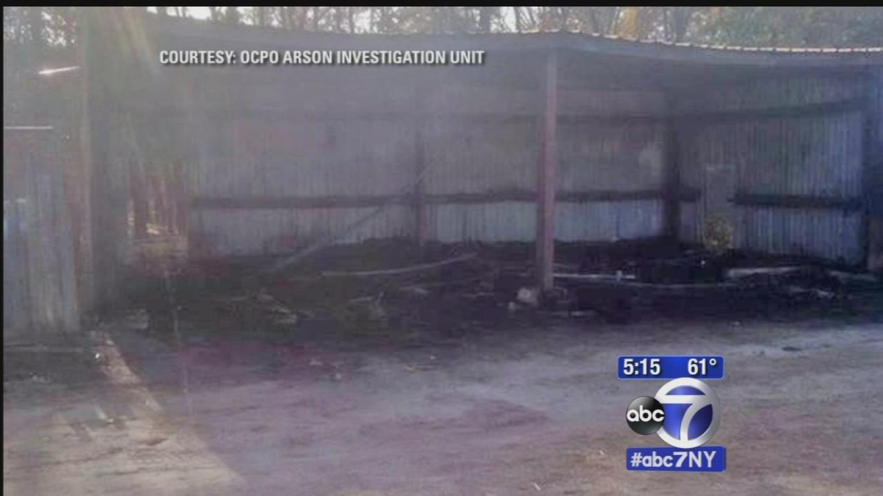 Police search for arsonist setting fires in Jackson, NJ