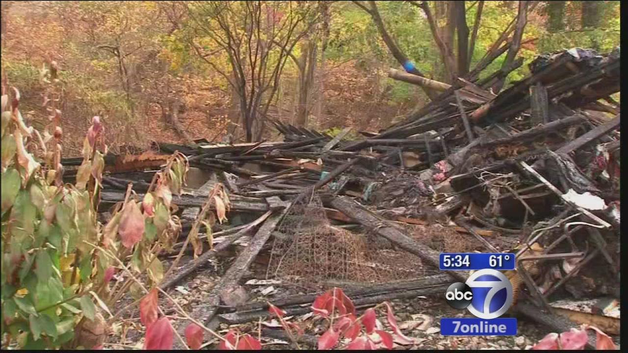 Rockland County  home destroyed by explosion and fire