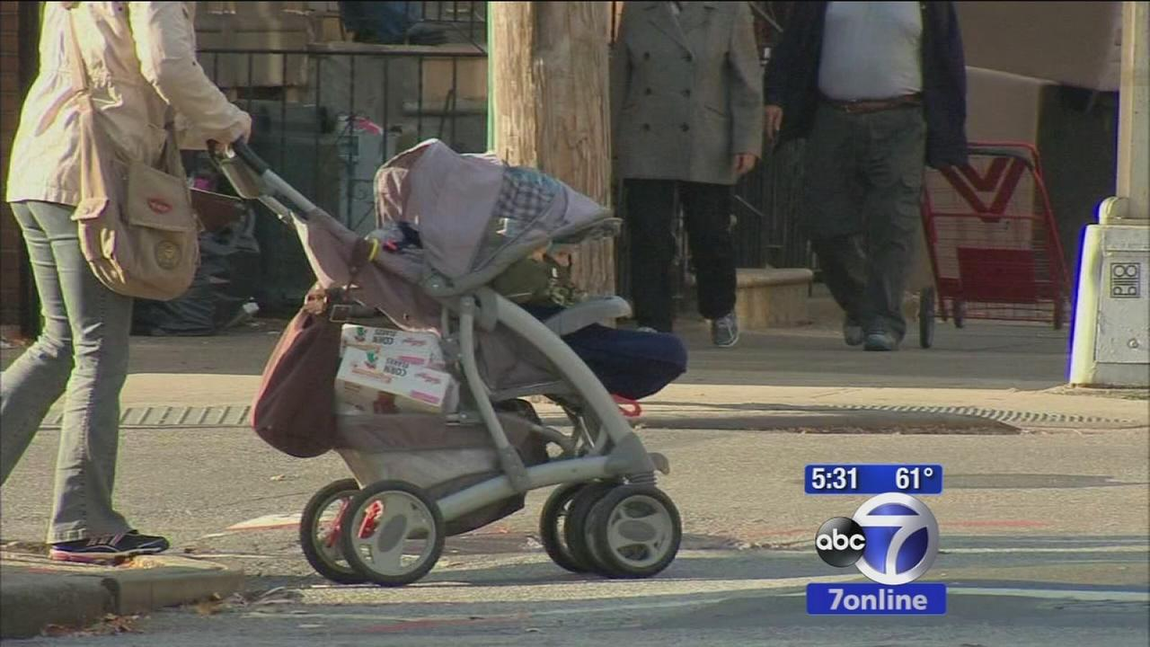 Couple accused of targeting parents with strollers