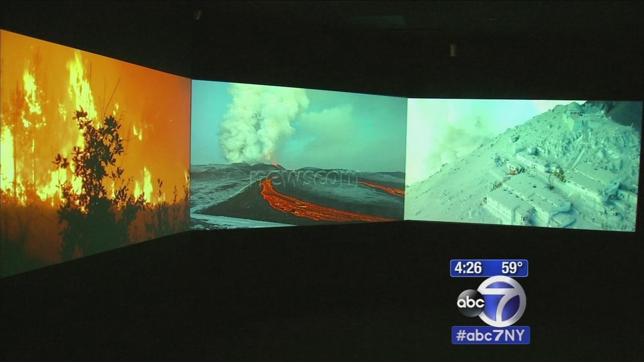 New exhibit depicts natures fury