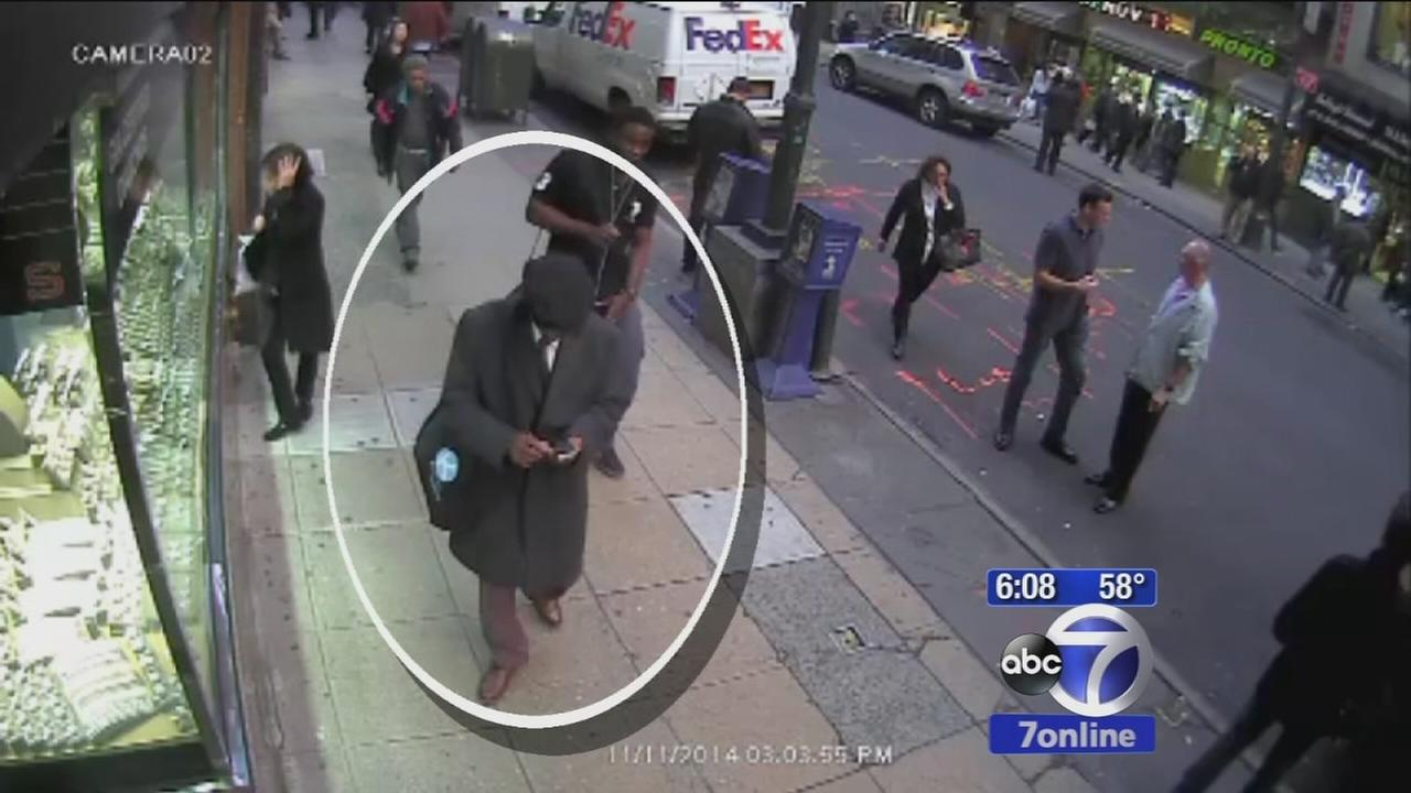 New video of suspects in jewelry heist