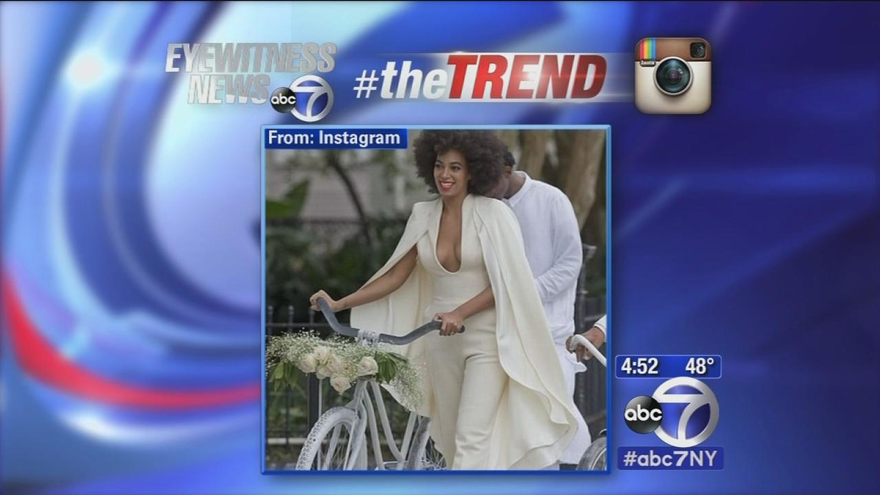 The Trend: Beyonce shares stunning photos of sister Solanges wedding