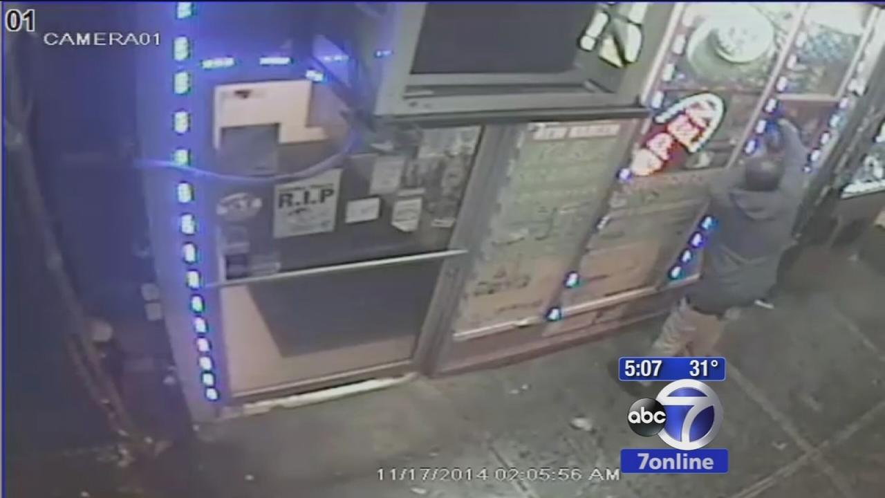 Man caught on camera torching East Harlem deli