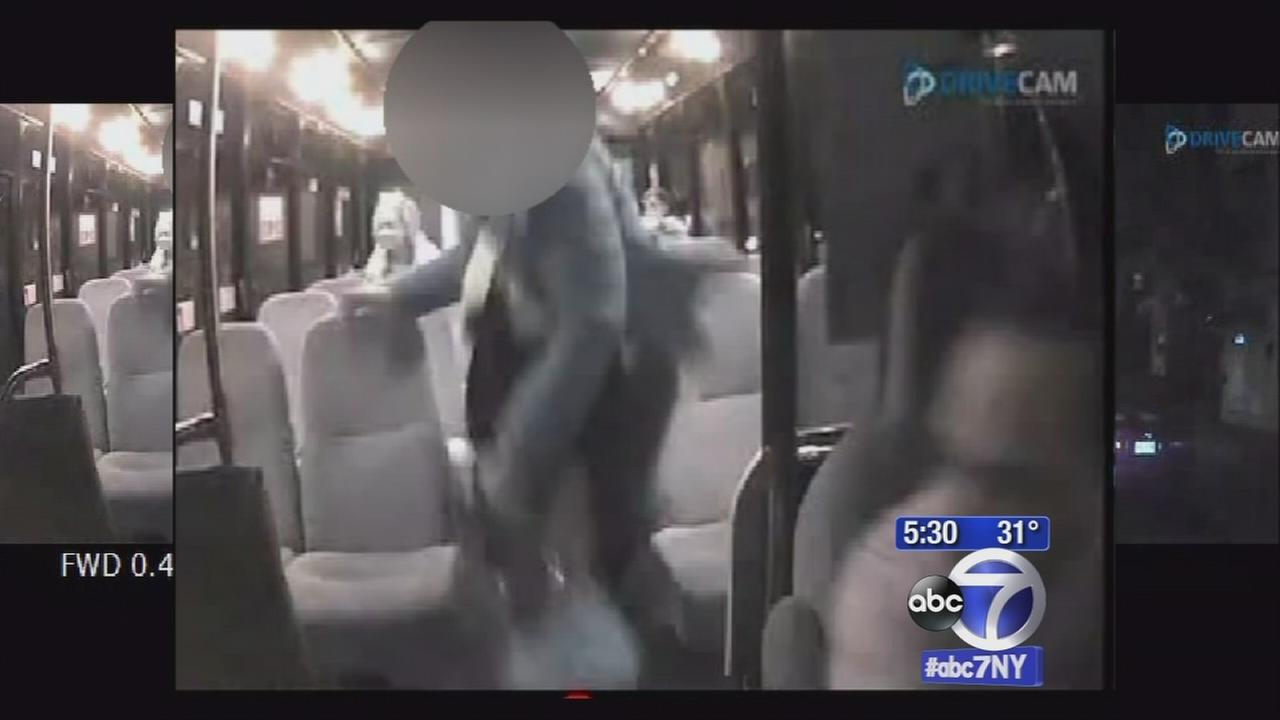 New video of suspects in ambush of NJ bus driver