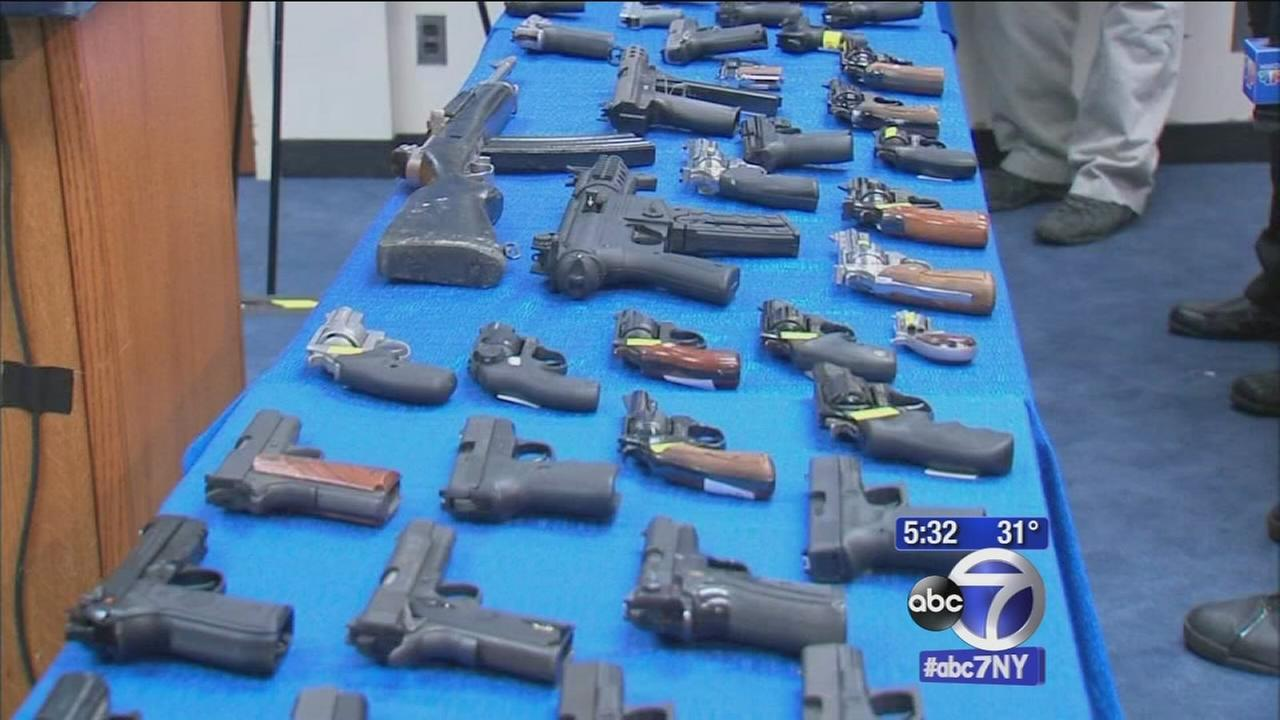 Alleged gun smuggling ring busted