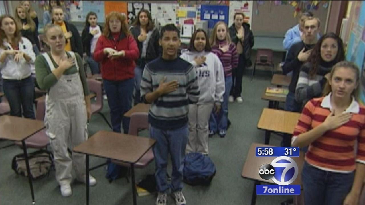 Court battle over Pledge of Allegiance in NJ school
