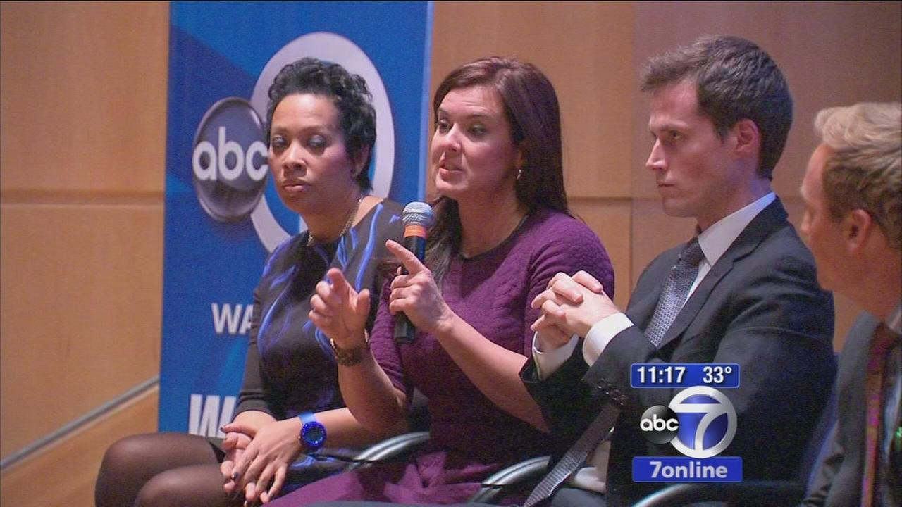 Town Hall held with Eyewitness News Weather team