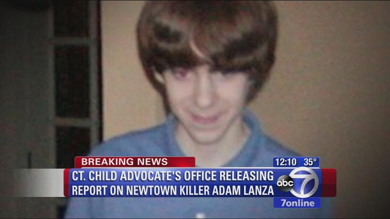 Report releases new details on Newtown killer Adam Lanza