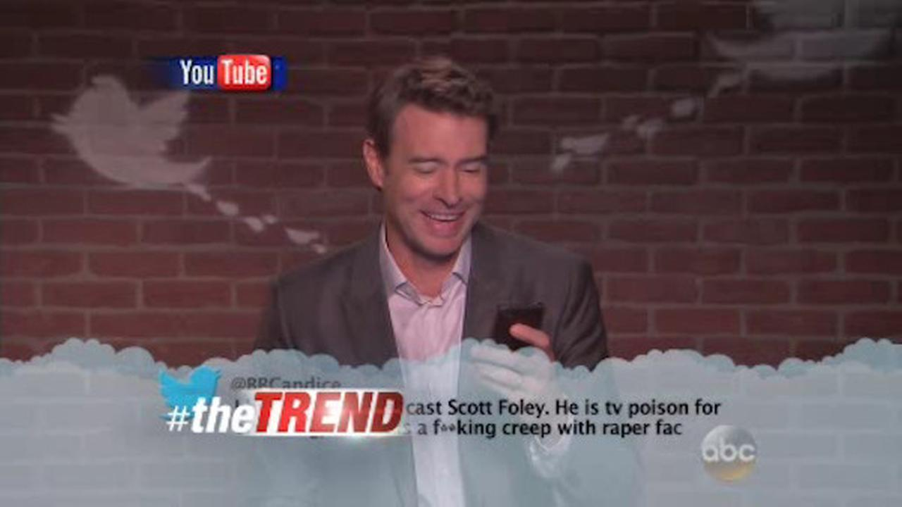 the trend celebrities read mean tweets