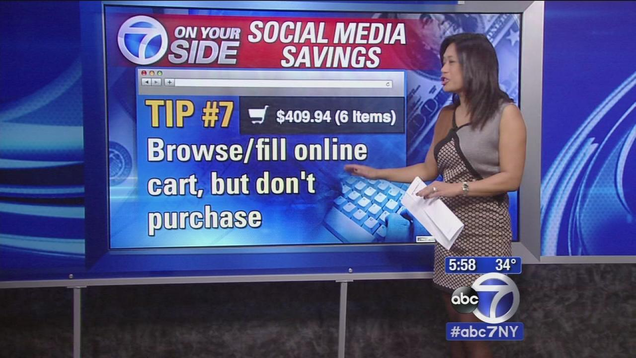 Tips for using social media to save on Black Friday