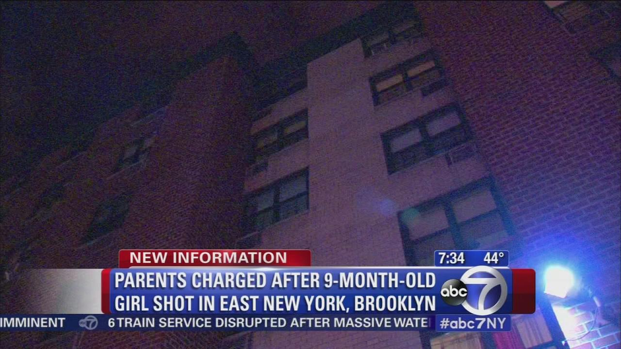 9-month old girl shot in abdomen by father