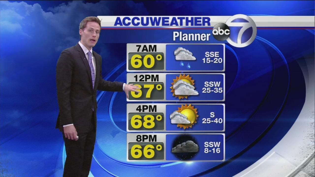 Wakeup Weather: Monday Warmup?