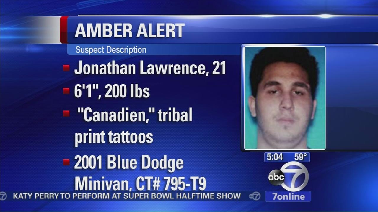 Amber Alert issued for 3-month old child