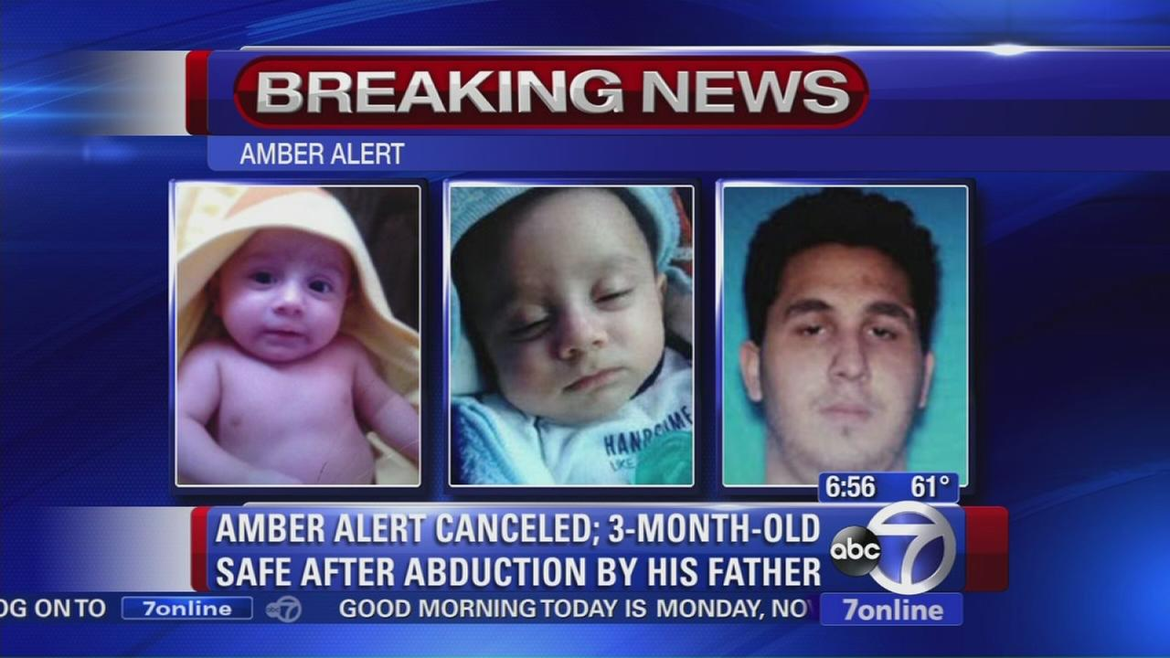 Amber Alert for 3-month old cancelled