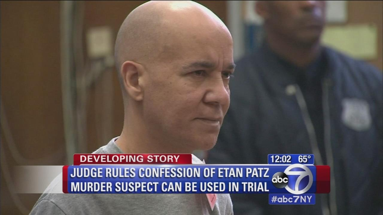 Judge: Pedro Hernandez confession can be used in Etan Patz trial