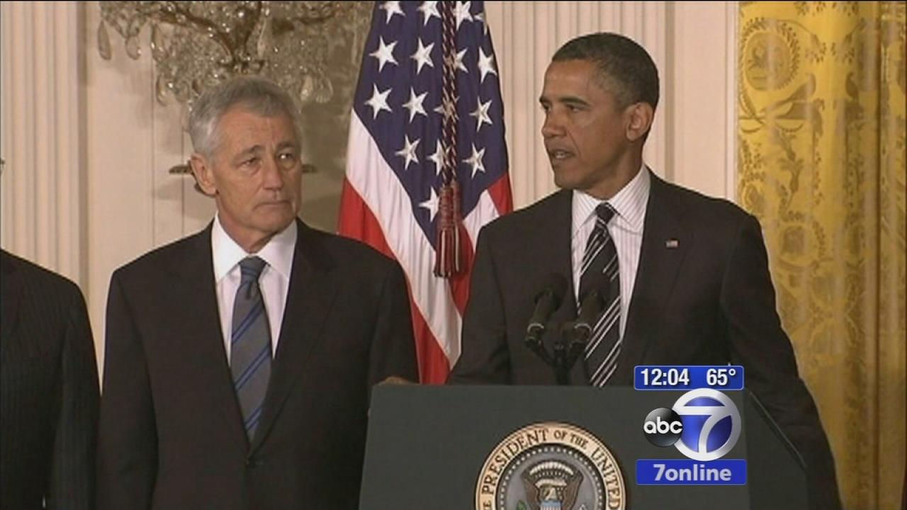 President Obama announces resignation of Defense Secretary Chuck Hagel
