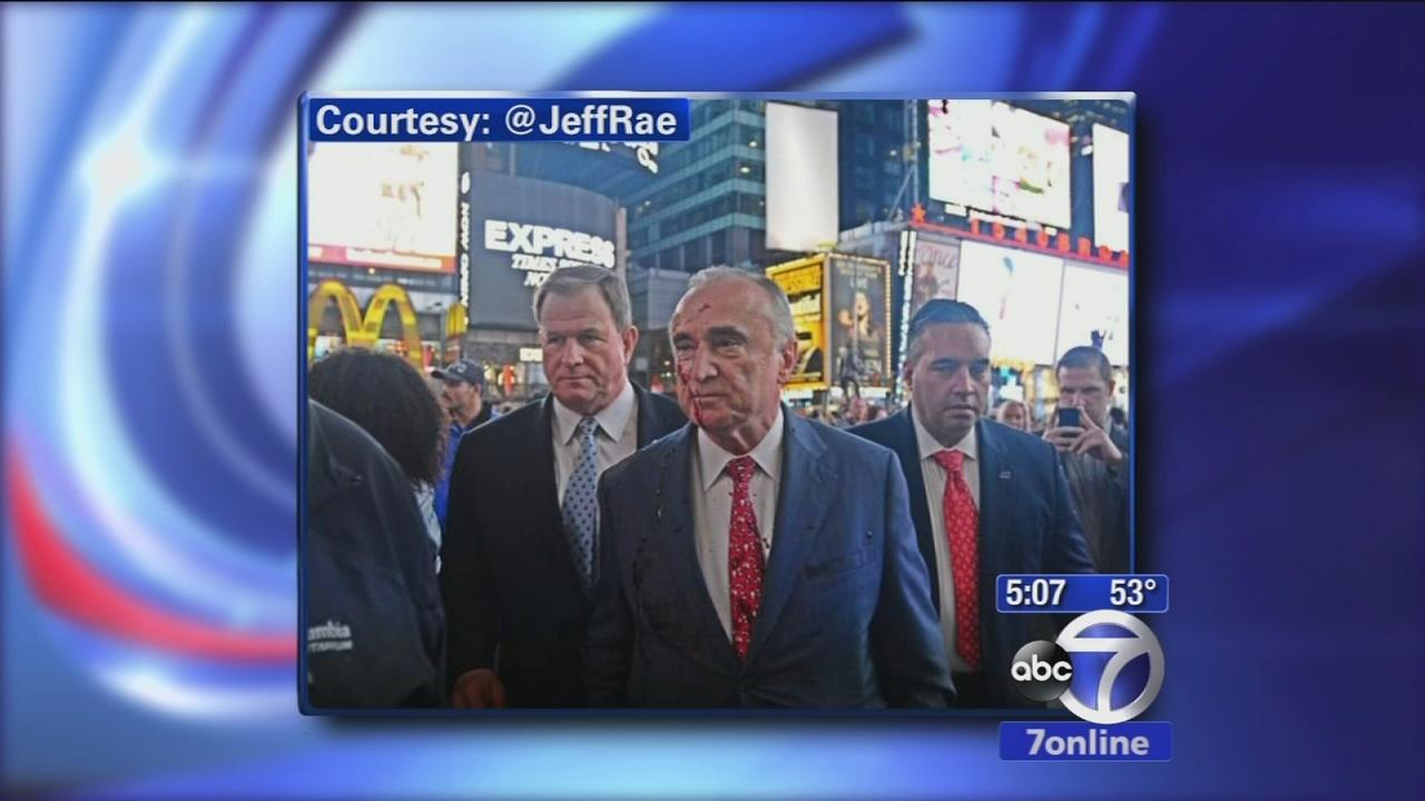 Police Commissioner Bratton addresses Ferguson protests in NYC