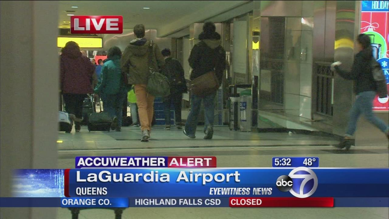 Expect delays, cancellations at New York-area airports