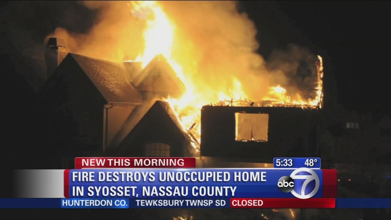 Syosset fire
