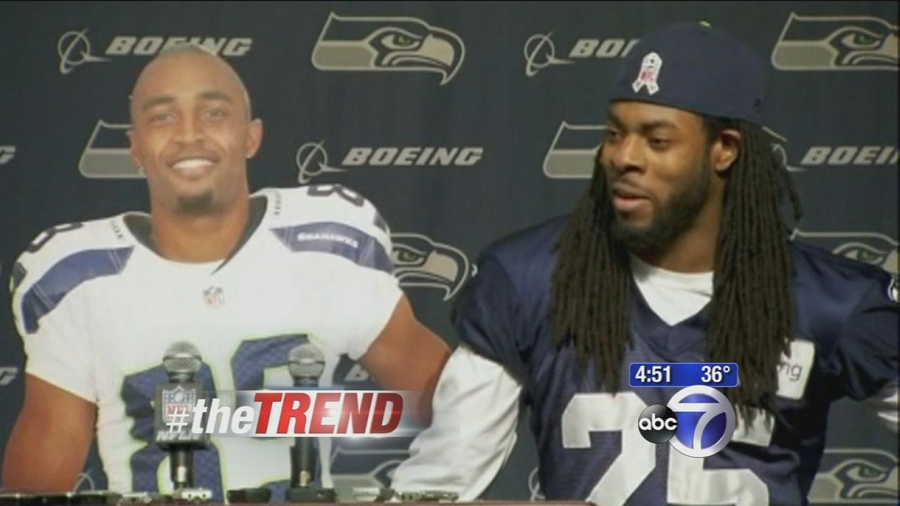 The Trend: Richard Sherman mocks NFL fine