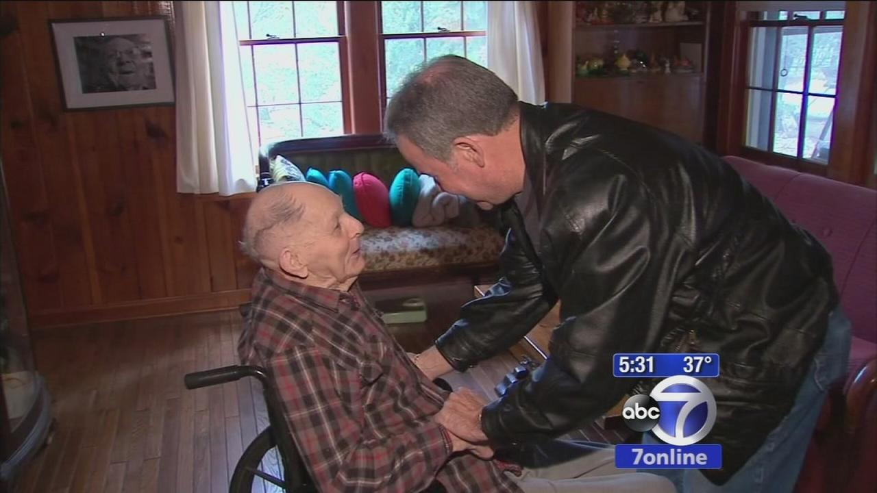 Army of volunteers helping to brighten 103-year-old mans Thanksgiving