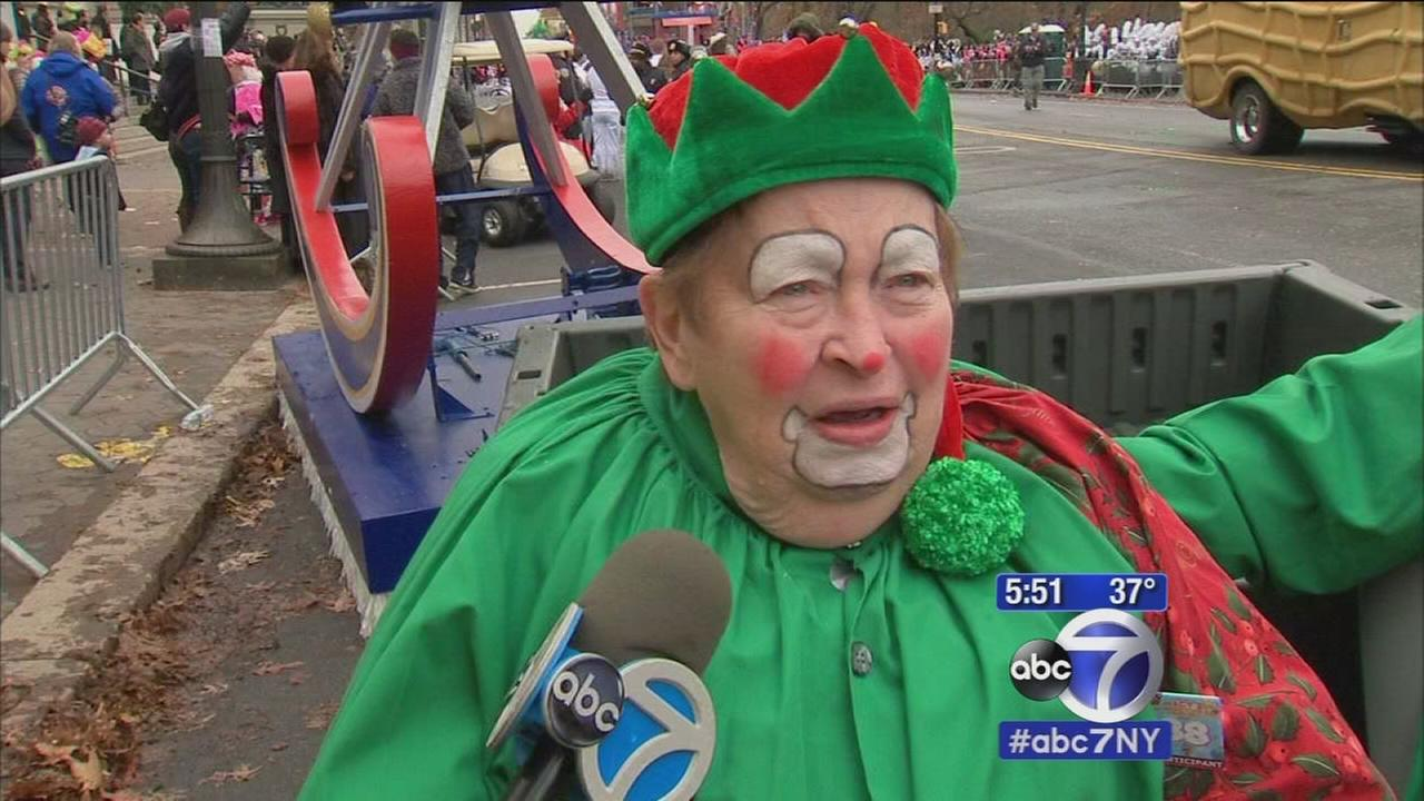 Dream to be in Macys Parade comes true for 83-year-old