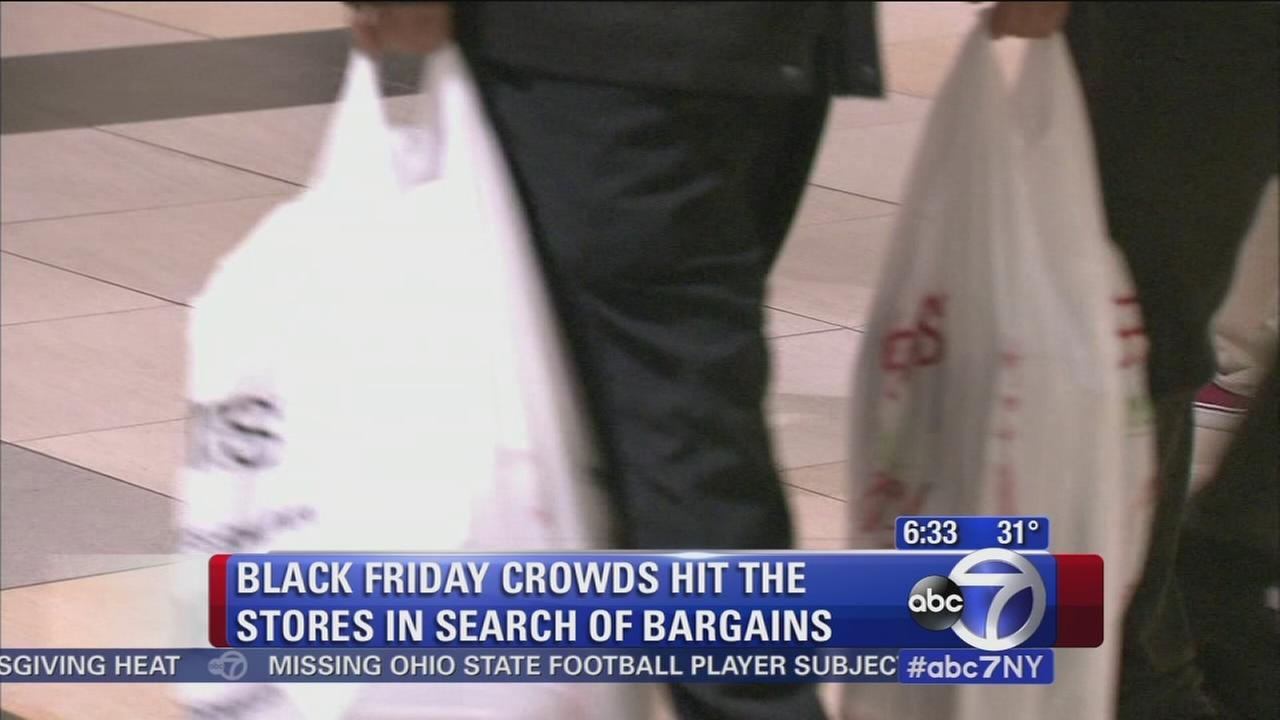 Let the shopping begin! Black Friday shoppers take action