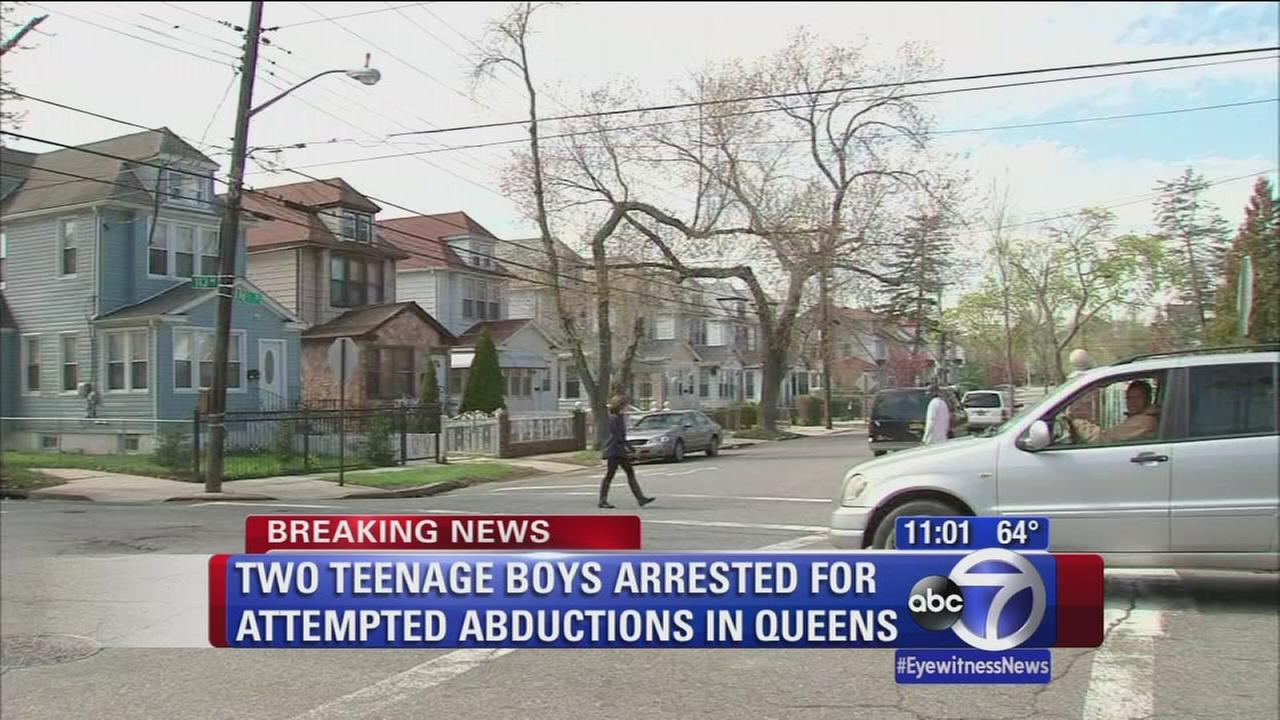 2 men arrested in attempted abduction case in Queens