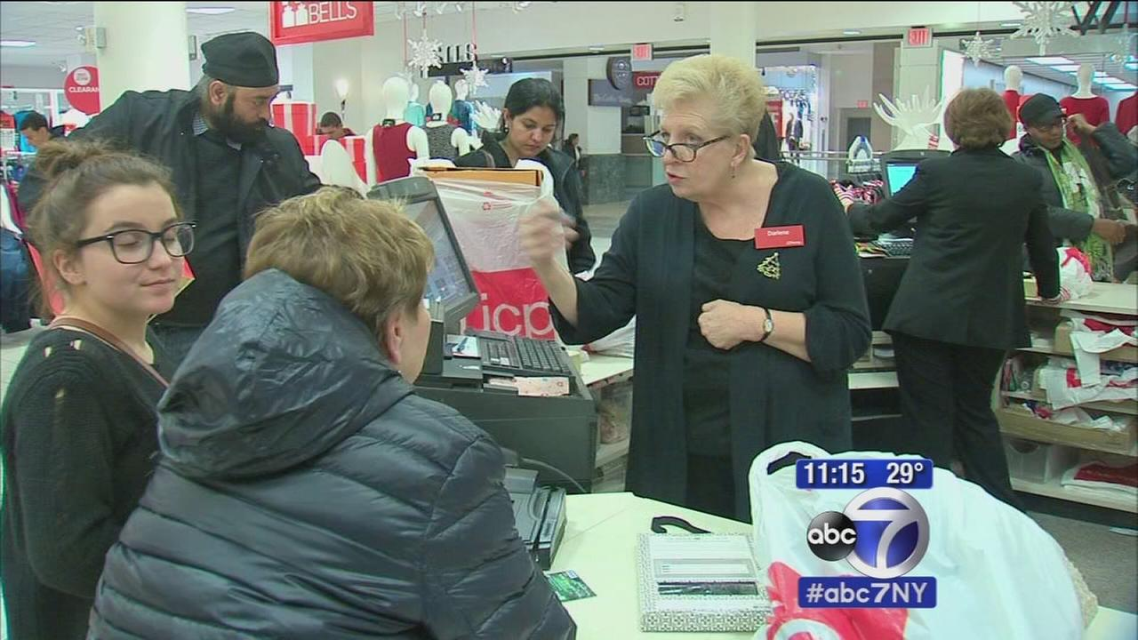 Shoppers look for bargains on Black Friday