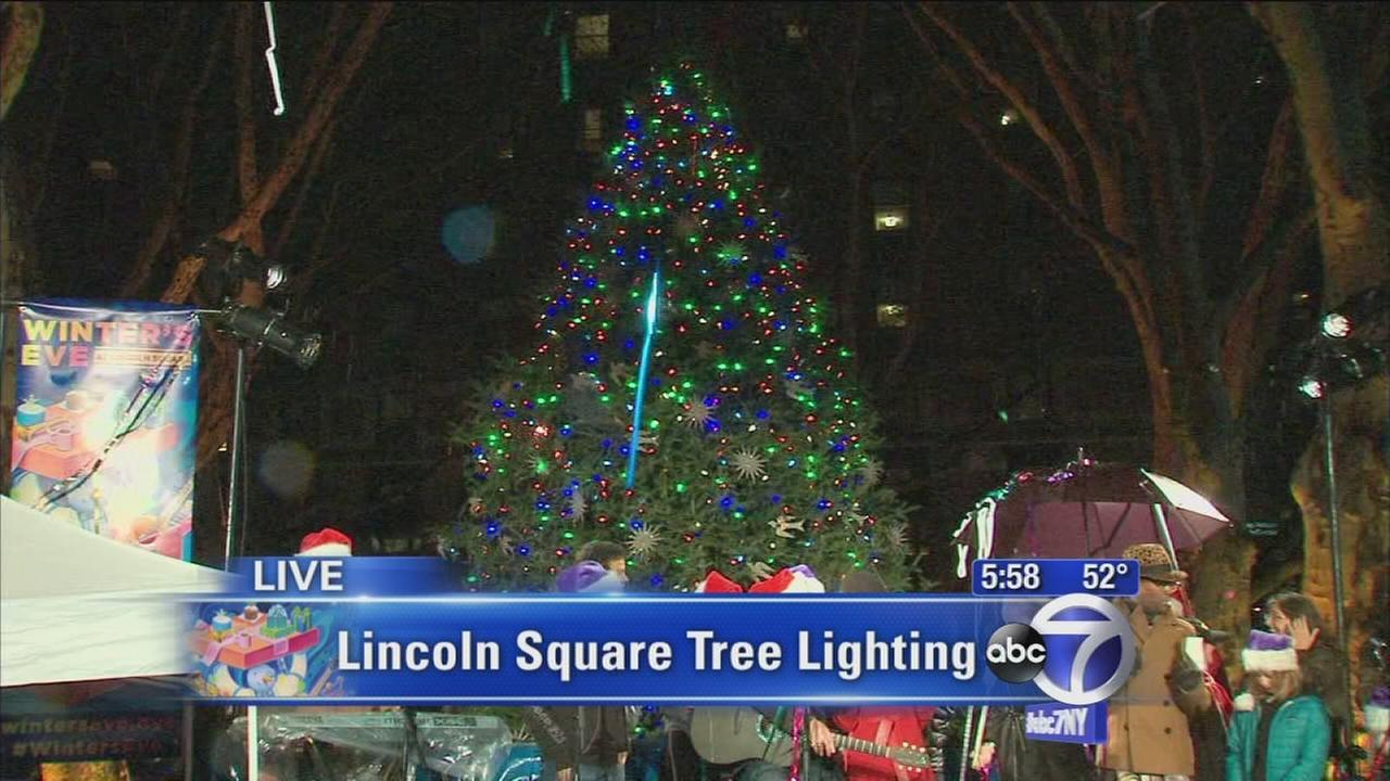 Winters Eve tree lighting ceremony