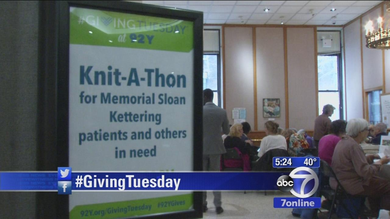 Giving Tuesday, a day to give to charity