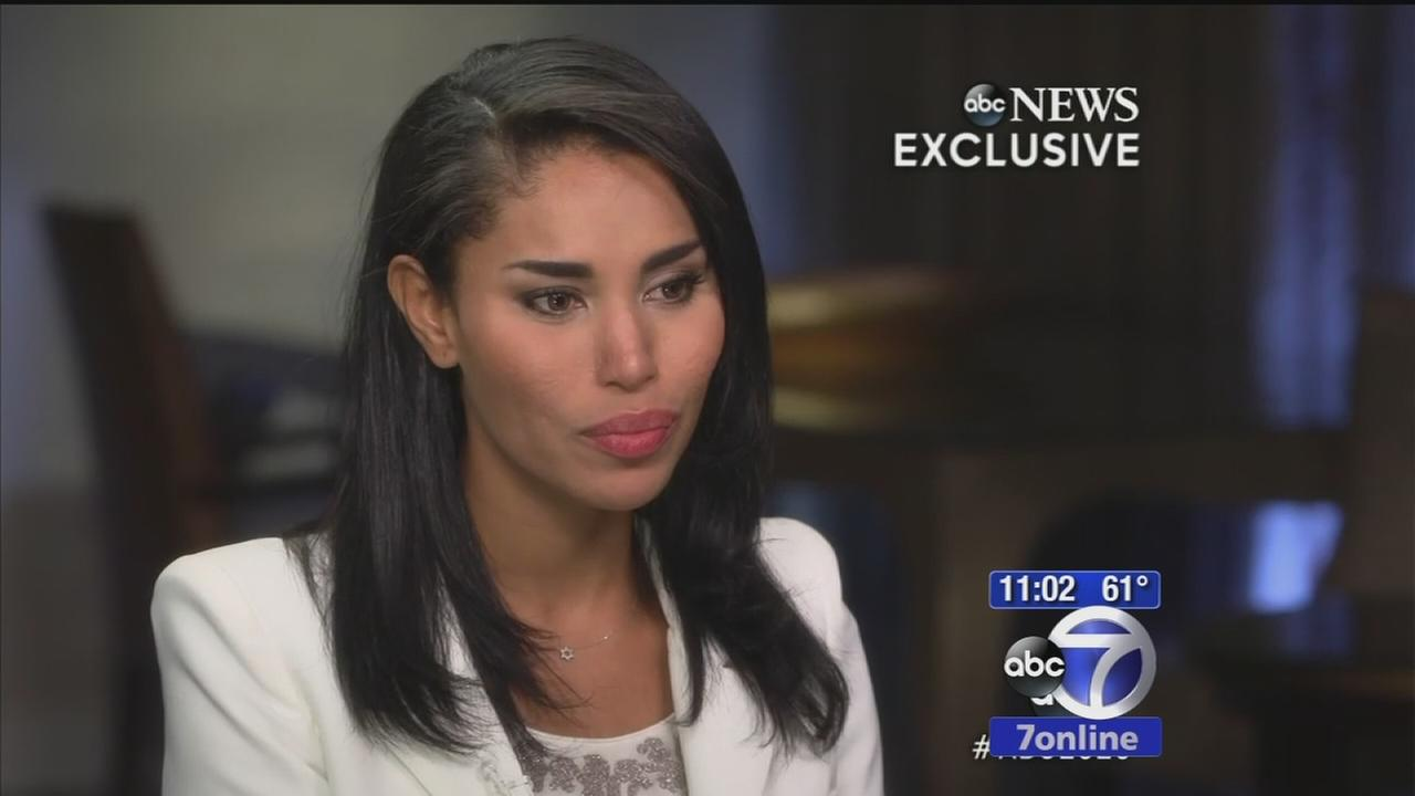 V. Stiviano speaks to Barbara Walters after Sterling scandal