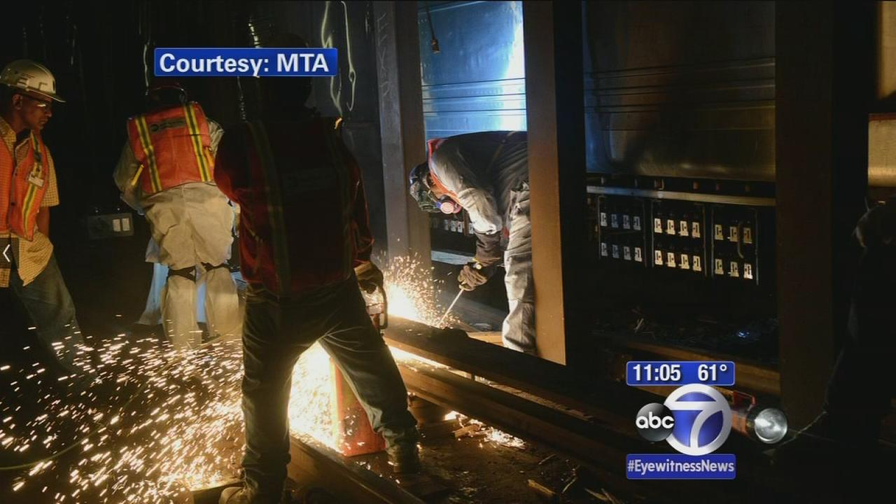 Repair timetable unclear after subway derailment