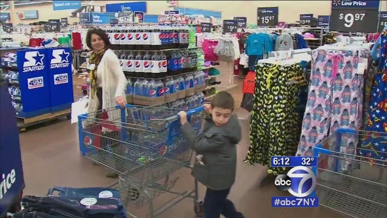 Needy kids get to go on shopping spree