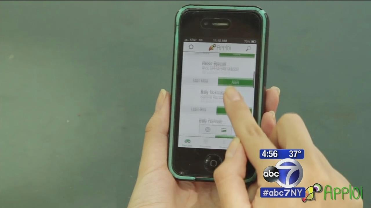 Job-seekers searching for jobs using Apploi app